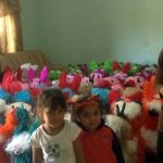Sonia y sus piñatas de Cuerámaro