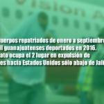 Van 87 migrantes guanajuatenses repatriados de EU; la mayoría muertos en accidentes