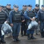 Alcalde de Abasolo entrega uniformes y equipo a policías
