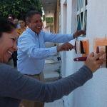 Alcalde encabeza el arranque y supervisión de acciones del programa Pinta tu entorno y Techo digno