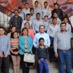 El alcalde Samuel Amezola apoya a nuevos talentos