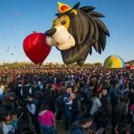 Festival Internacional del Globo pinta de colores el cielo de León, Guanajuato