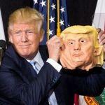 """""""¡Wow! está hermosa!"""", dice Trump sobre su máscara"""