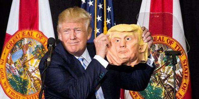 """Photo of """"¡Wow! está hermosa!"""", dice Trump sobre su máscara"""