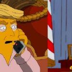 Los Simpson predijeron la llegada de Trump desde hace 16 años