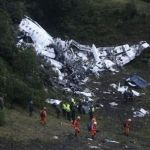 Equipo brasileño de futbol Chapecoense sufre accidente aéreo