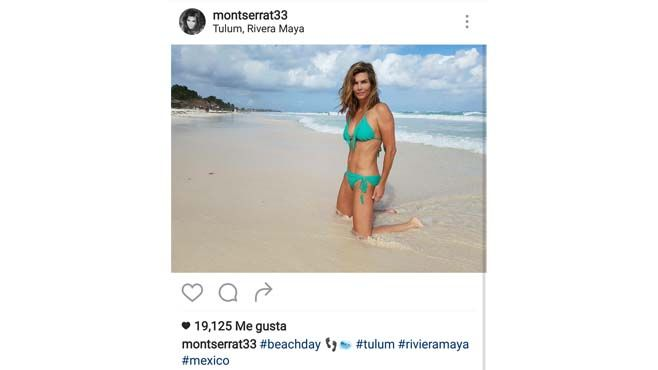 Photo of Monserrat Oliver enciende las redes en bikini