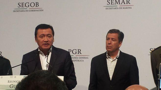 Preside Miguel Ángel Osorio Chong reunión del gabinete de seguridad