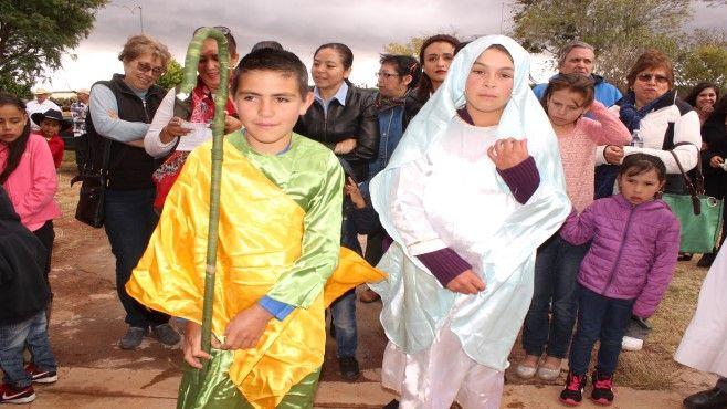 Photo of Familias de la Sierra de Pénjamo celebran posada organizada por el DIF