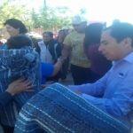 Alcalde y funcionarios entregan más de 4,200 cobijas en Cuerámaro