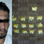 "Detienen a hombre en posesión de 19 envoltorios de ""cocaína"""