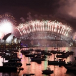 Varios países ya festejaron a todo color la llegada del Año Nuevo