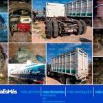 Recuperan vehículos robados usados para el trasiego de hidrocarburos y arsenal de grueso calibre en Salamanca y Villagrán