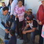 Arrancan segunda etapa de pavimentación de calle principal en la Presa de Uribe