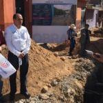 Comienzan los trabajos de construcción de 6 calles en Huanímaro