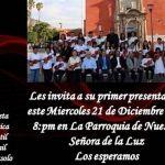 OSIJA presentará concierto en parroquia Ntra. Señora de la Luz