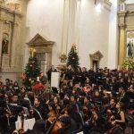 Cerró año la OSIJI con concierto navideño, en la Catedral de Irapuato