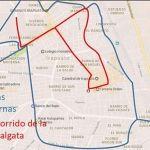 Recorrido de Cabalgata de Reyes Magos 2017; use vías alternas