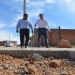 Supervisa alcalde 6 obras en Cuerámaro
