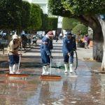 Servicios Públicos realiza trabajos de mantenimiento en Cuerámaro