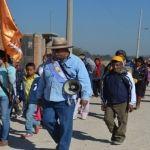 Reportan el paso de más de 2,000 peregrinos en Cuerámaro