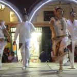 Se presenta el ballet folclórico de Yurécuaro en las Fiestas de la Candelaria
