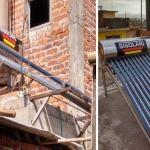 90 familias beneficiadas con la entrega de calentadores solares