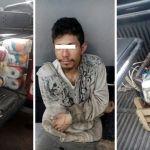 Detenido por robar en jardín de niños