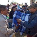 Continúa entrega de cobijas a familias vulnerables