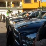 Entregan patrullas y motocicletas a policía de Abasolo