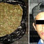 Tras denuncia ciudadana, detienen a presunto distribuidor de drogas