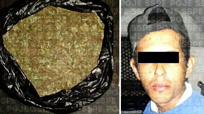 Photo of Tras denuncia ciudadana, detienen a presunto distribuidor de drogas
