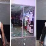Roban farmacia; detienen a dos presuntos ladrones