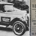 """Whippet: El coche que caminaba """"con más poca"""" gasolina"""