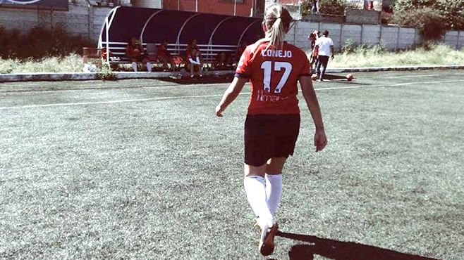 "Photo of ""Esperamos ganar la Liga Mayor Femenil"": Sthefania Conejo"