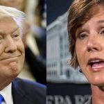 Fiscal enfrenta a Donald Trump… ¡y la despide!
