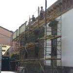 Arranca rehabilitación de la fachada de Presidencia Municipal