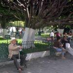 Jardín principal de Irapuato, donde se respira paz y alegría