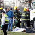 """""""Camión terrorista"""" atropella a soldados; hay 4 muertos"""