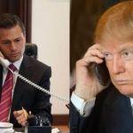 Trump y Peña Nieto charlan vía telefónica durante una hora