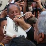 """López Obrador hace un llamado para """"construir un acuerdo nacional"""""""