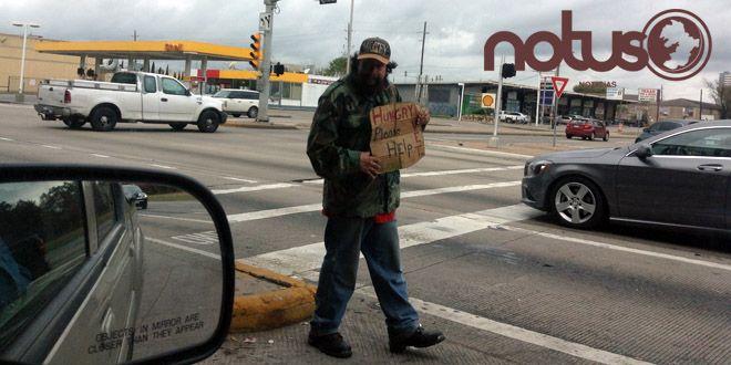 Photo of En Estados Unidos también hay pordioseros gringos