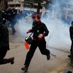 Mandato de Trump inicia con protestas y violencia