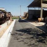 Próxima inauguración de la calle El Pithayo en la comunidad del Durazno de Fonseca