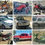 Aseguran 22 vehículos de motor en operativos, en carreteras del Estado