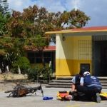 Realizan simulacro en primaria de La Presa de Uribe