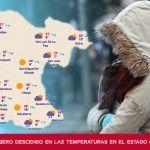 Se prevé un ligero descenso en las temperaturas en el estado de Guanajuato