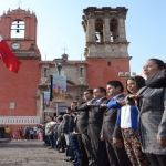 Celebran en Abasolo Centenario de la Constitución Méxicana