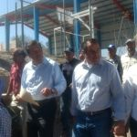 Supervisan alcalde y gobernador obras en Abasolo