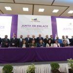 Alcalde Ricardo Ortiz Gutiérrez acude a la Junta de Enlace en Materia Fiscal